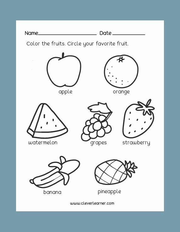 Science Worksheets for Preschoolers Fresh Free Preschool Science Worksheets Healthy and Unhealthy