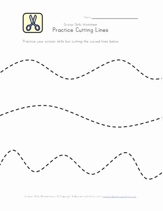 Scissor Cutting Worksheets for Preschoolers Best Of Pin On Cutting Practice