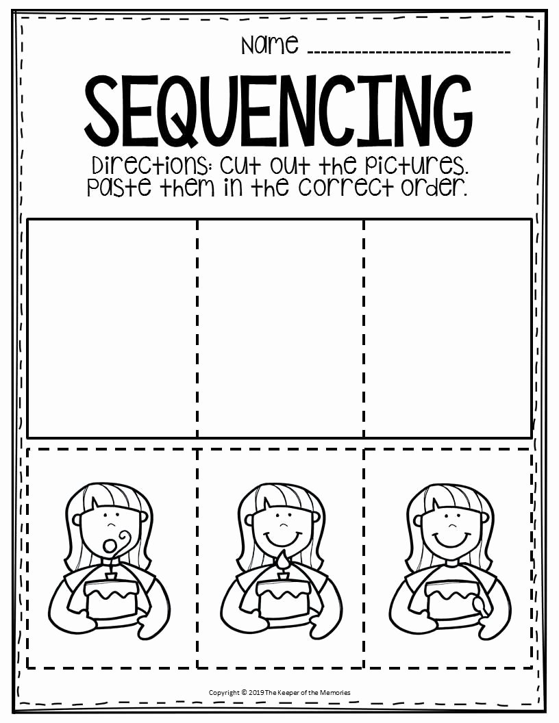 Sequencing Worksheets for Preschoolers Best Of Free Printable Sequence Of events Worksheets