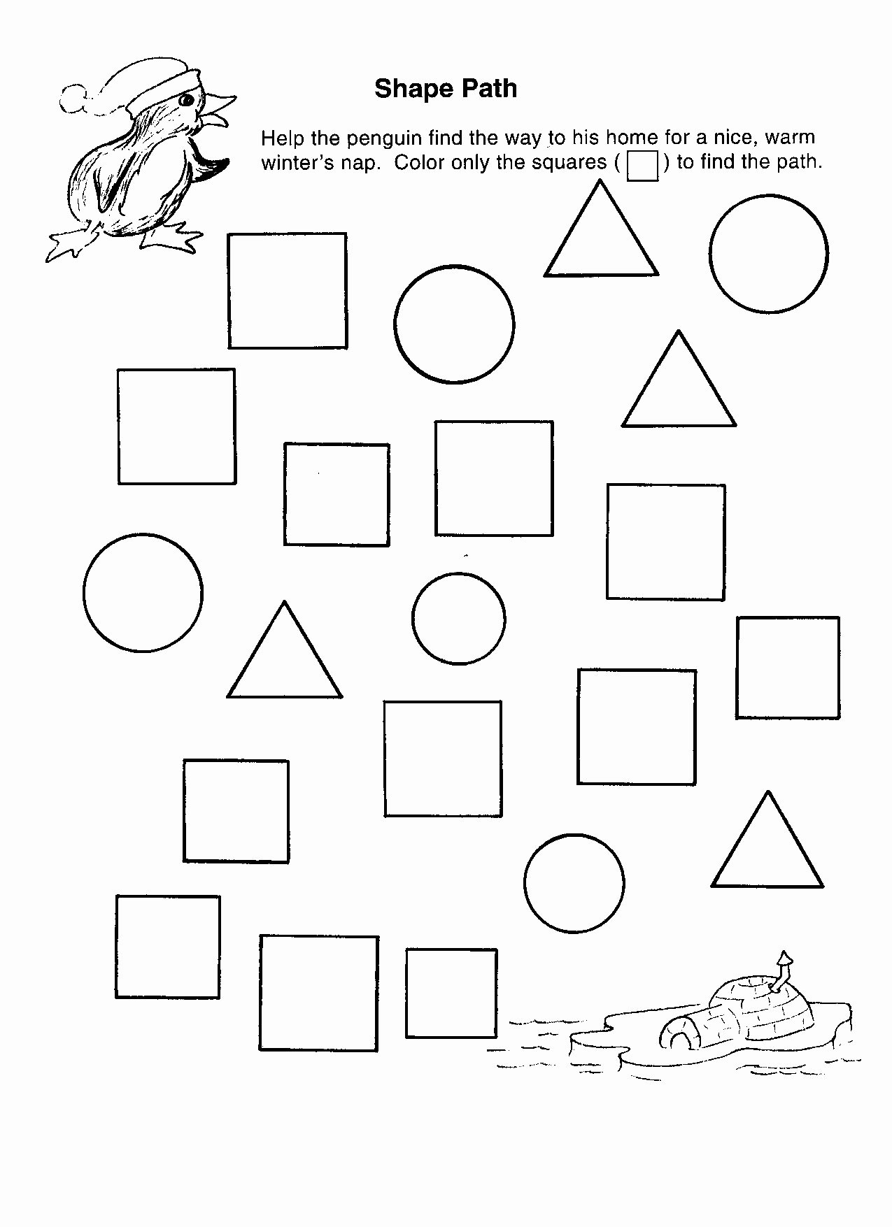 Shape Recognition Worksheets for Preschoolers Inspirational Shape Recognition