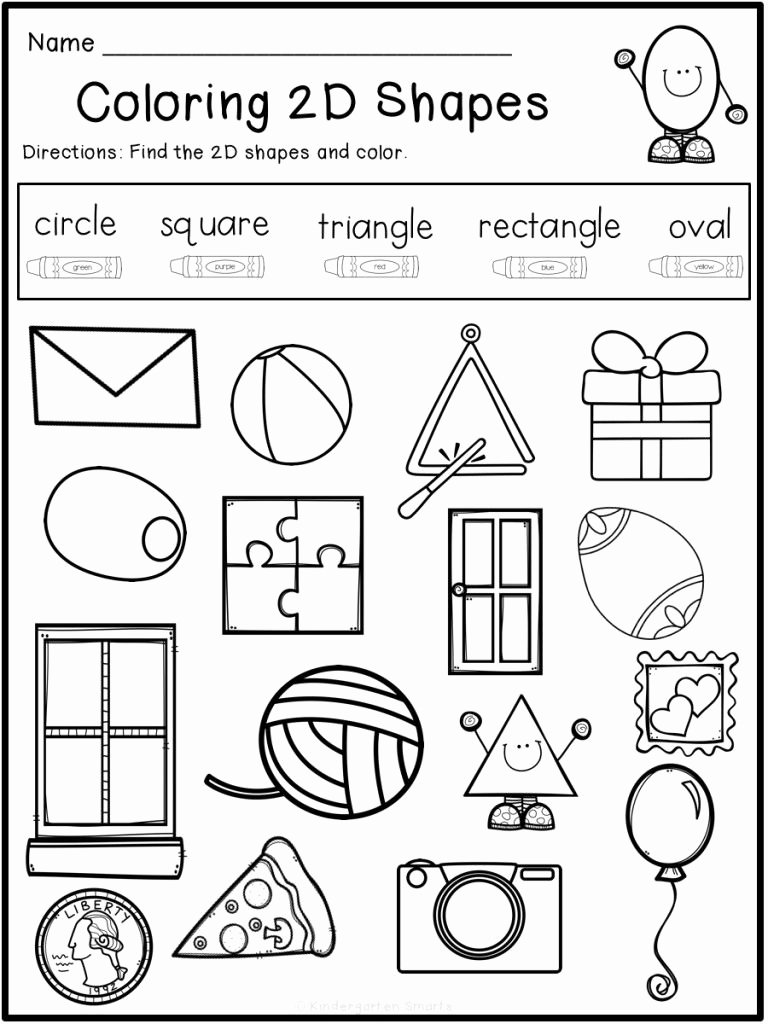 Shape Review Worksheets for Preschoolers Lovely Summer Review with A Freebie Kindergarten Smarts