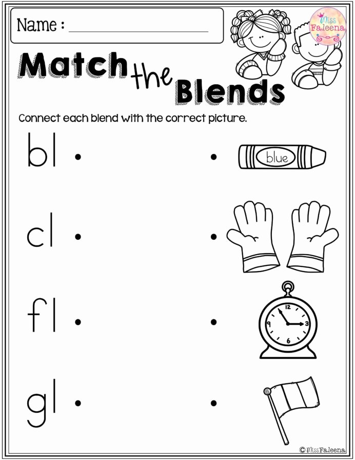 Sharing Worksheets for Preschoolers Printable Free Blends Worksheets Worksheets Free English Worksheets
