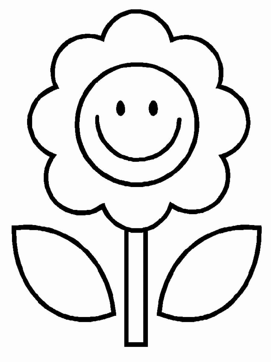 Simple Coloring Worksheets for Preschoolers Ideas Simple Coloring Pages to Print
