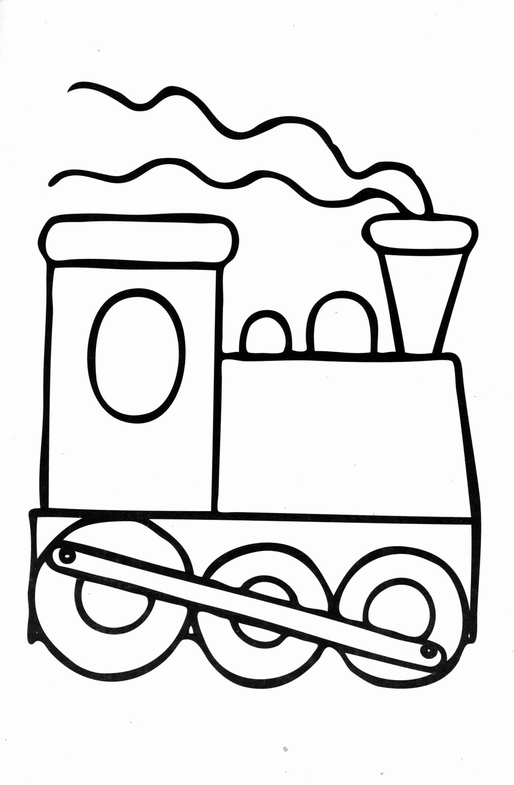 Simple Coloring Worksheets for Preschoolers Kids Simple Coloring Pages for Kindergarten Free to Print
