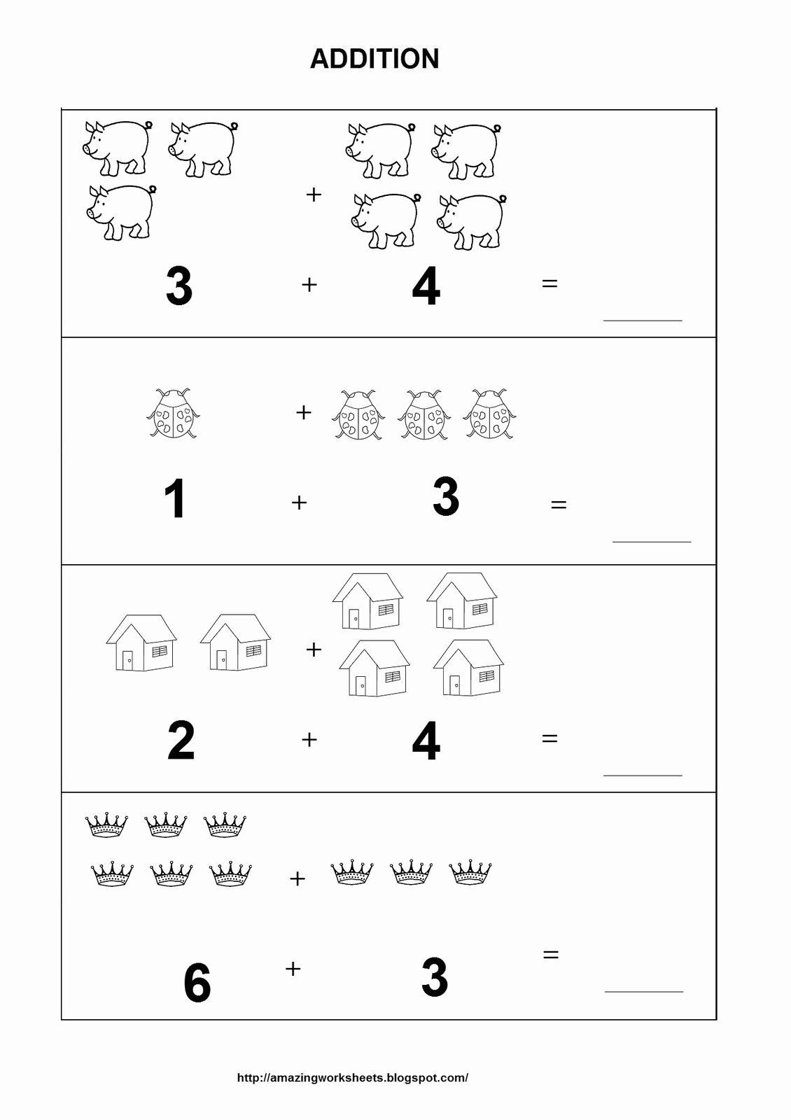 Simple Math Worksheets for Preschoolers New Math Worksheet 60 Remarkable Simple Worksheets for