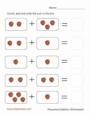 Simple Worksheets for Preschoolers top Free Printable Kindergarten Worksheets