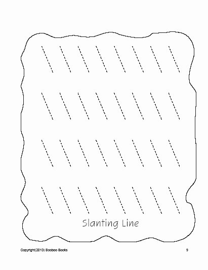 Slanting Lines Worksheets for Preschoolers Printable Pre K Worksheets Preschool Coloring Pages