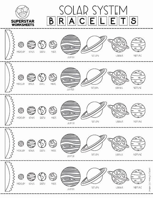 Solar System Worksheets for Preschoolers Lovely solar System Worksheets Superstar Worksheets
