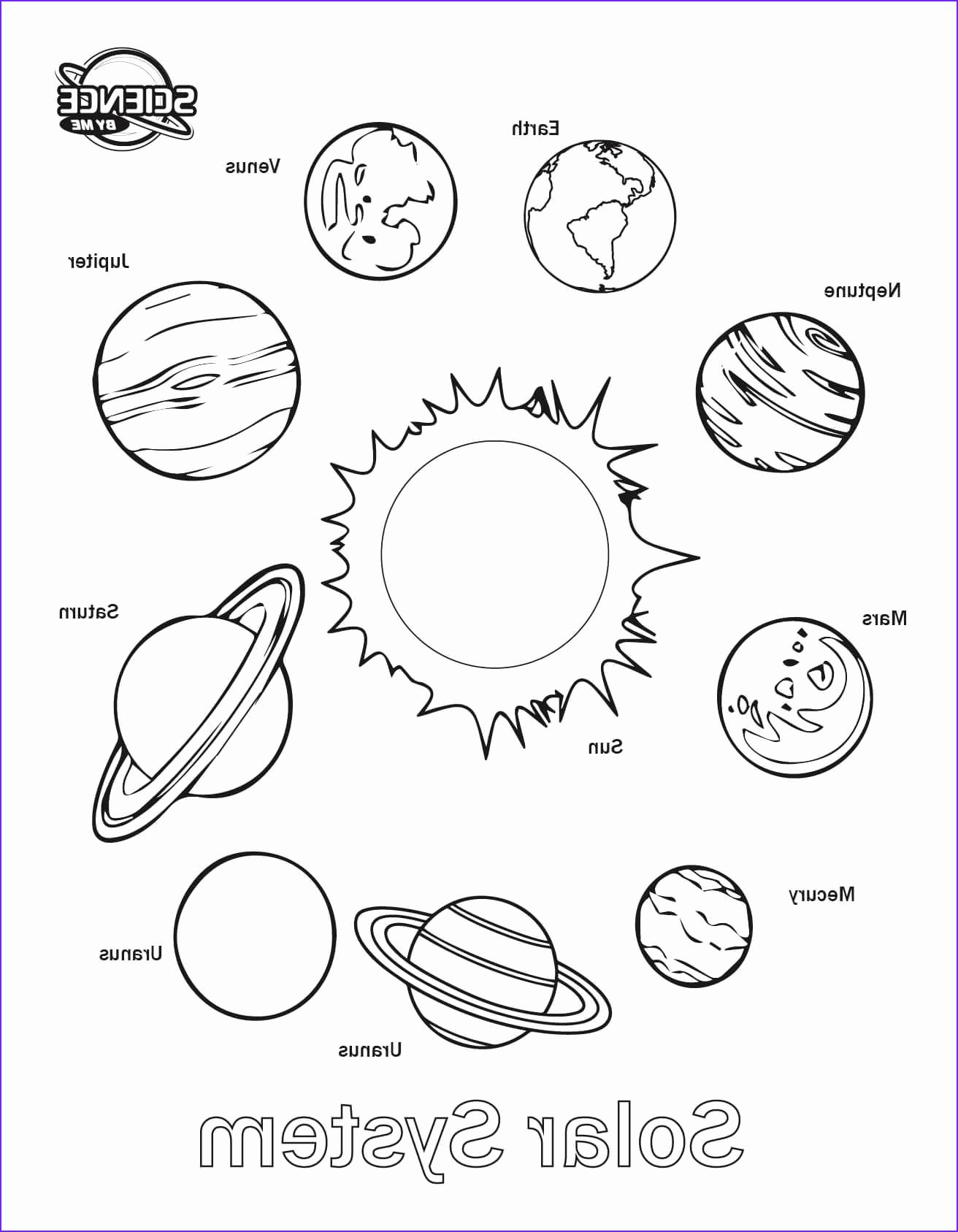Solar System Worksheets for Preschoolers New Coloring solar System Sheet Free Printable Sheets Awesome