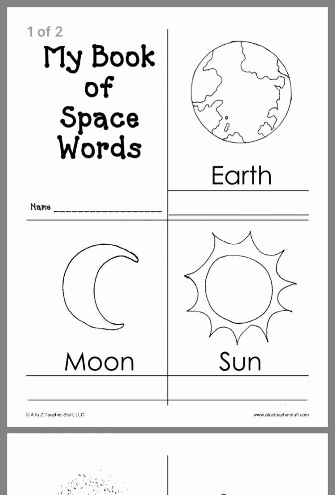 Space Worksheets for Preschoolers Free Space Worksheets for Preschool solar System Coloring Page