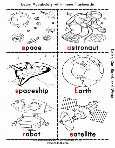 Space Worksheets for Preschoolers Lovely Space Activities Games and Worksheets for Kids