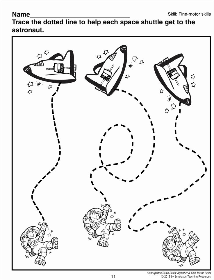 Space Worksheets for Preschoolers Printable Crafts Actvities and Worksheets for Preschool toddler and