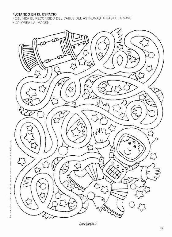 Space Worksheets for Preschoolers Printable Space Worksheet for Kids