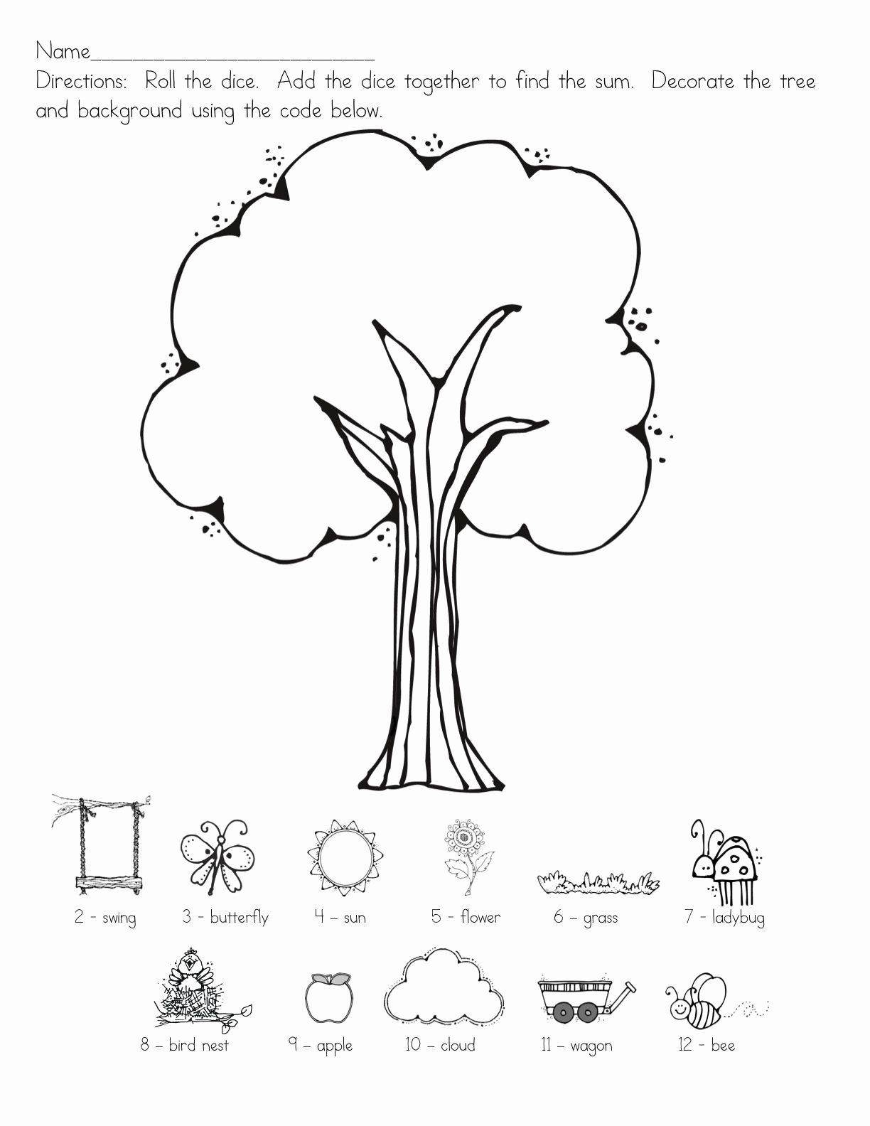 Spatial Concepts Worksheets for Preschoolers Printable Directions Worksheet Preschool Printable Worksheets and