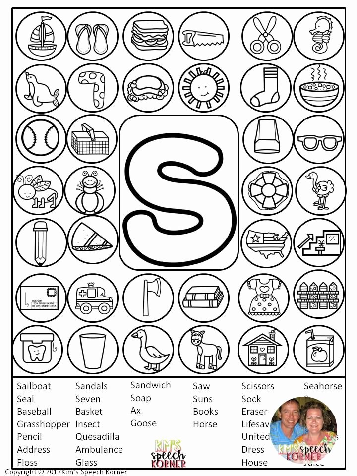"Speech therapy Worksheets for Preschoolers Free Dot ""artsy"" Articulation Activities Worksheets with"