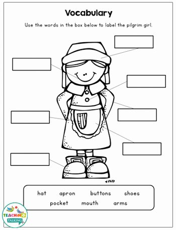 Speech therapy Worksheets for Preschoolers New Thanksgiving Speech and Language Activities & Worksheets