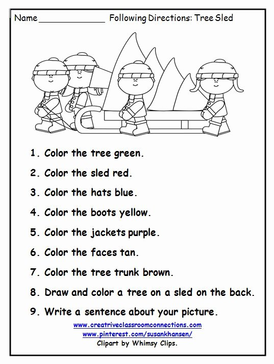 Speech Worksheets for Preschoolers Best Of This Free Printable is A Great December Activity for