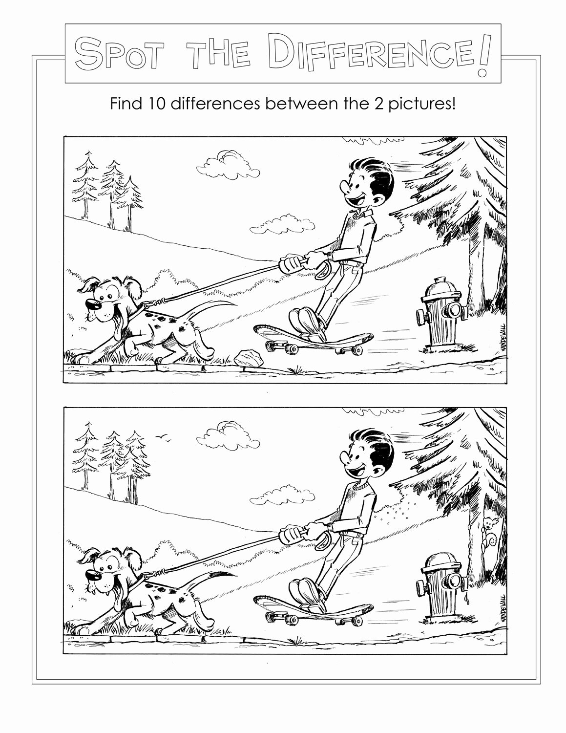 Spot the Difference Worksheets for Preschoolers Best Of Spot the Difference Worksheets