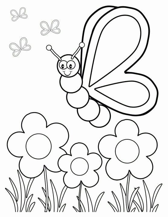 Spring Coloring Worksheets for Preschoolers New top 35 Free Printable Spring Coloring Pages Line