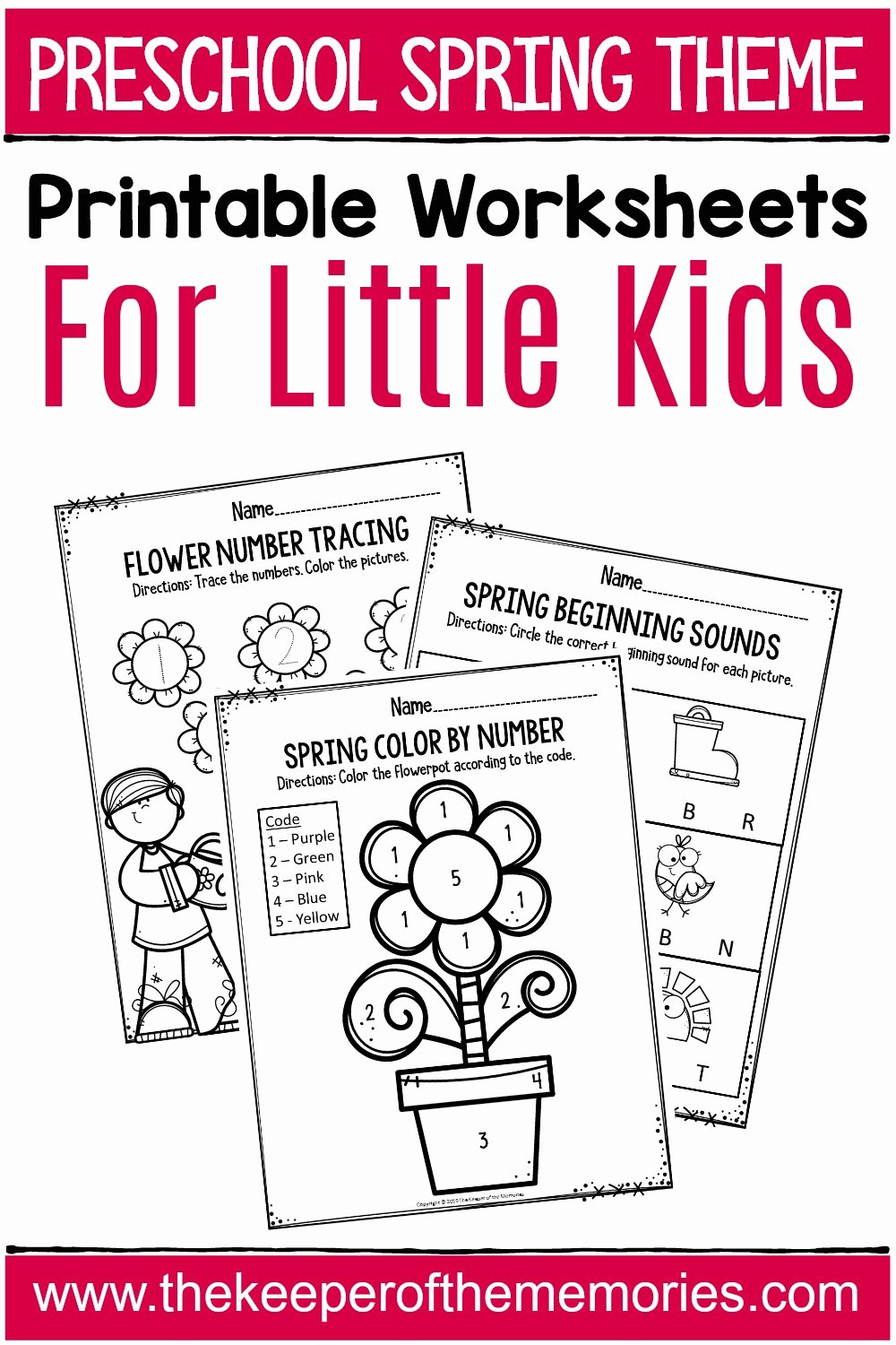 Spring Printable Worksheets for Preschoolers Fresh Spring Printable Preschool Worksheets the Keeper Of the