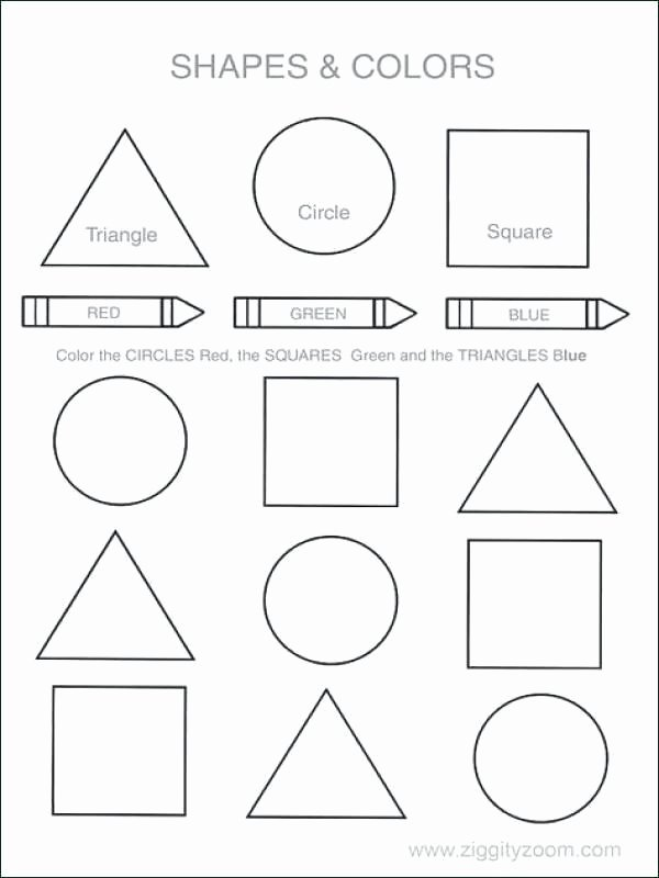 Square Worksheets for Preschoolers Inspirational Square Worksheets for Preschool Shapes Math Fig High School