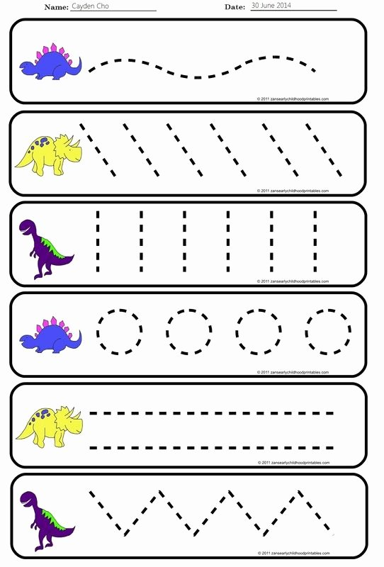 Strokes Worksheets for Preschoolers Inspirational Pre Handwriting Strokes Worksheets