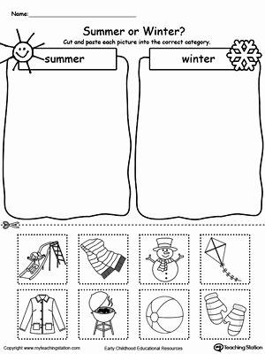 Summer Activities Worksheets for Preschoolers New Preschool Printable Worksheets