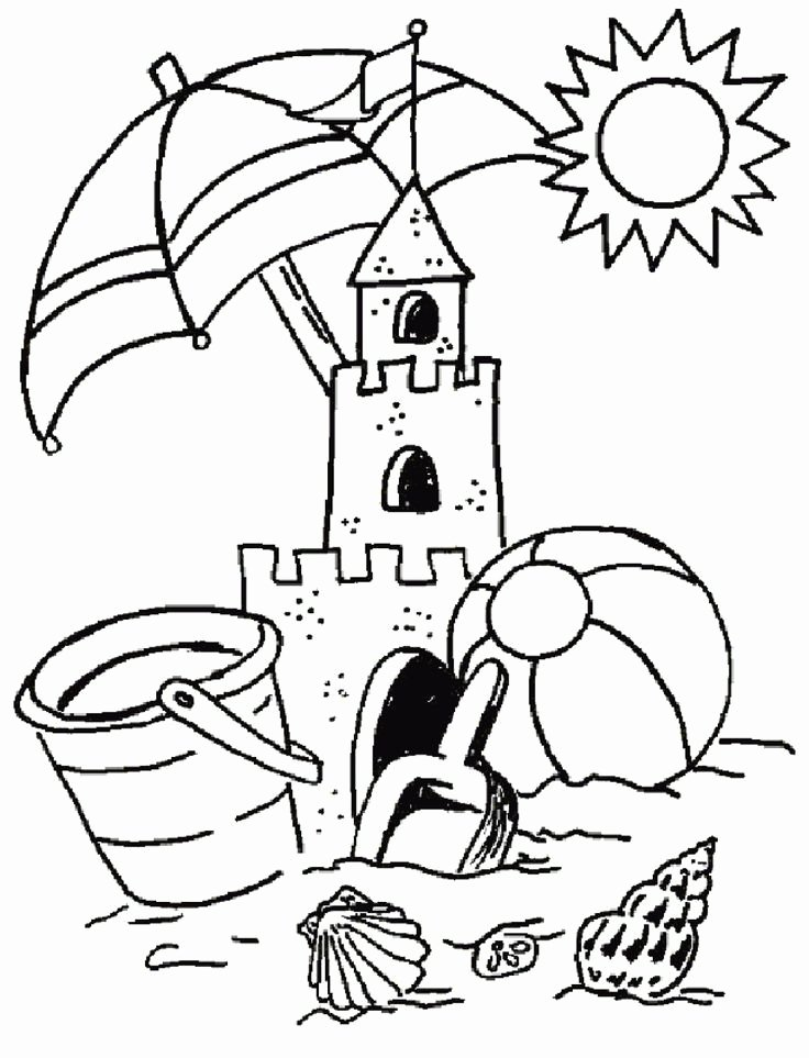 Summer Coloring Worksheets for Preschoolers Fresh Summer Coloring Pages Kindergarten Free Coloring Sheets