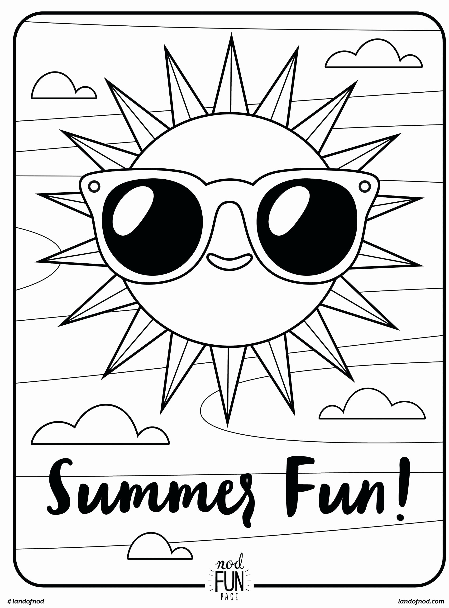 Summer Coloring Worksheets for Preschoolers Lovely Coloring Summer Activities New Color by for Kids Number