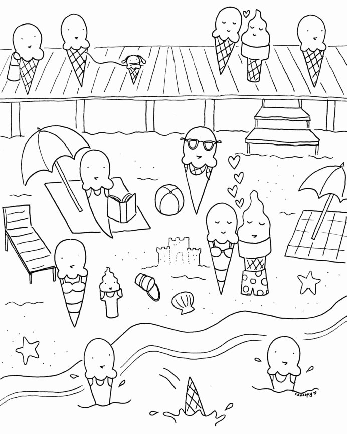 Summer Fun Worksheets for Preschoolers Ideas Coloring Pages Coloring Free Downloadable Summer Fun Book