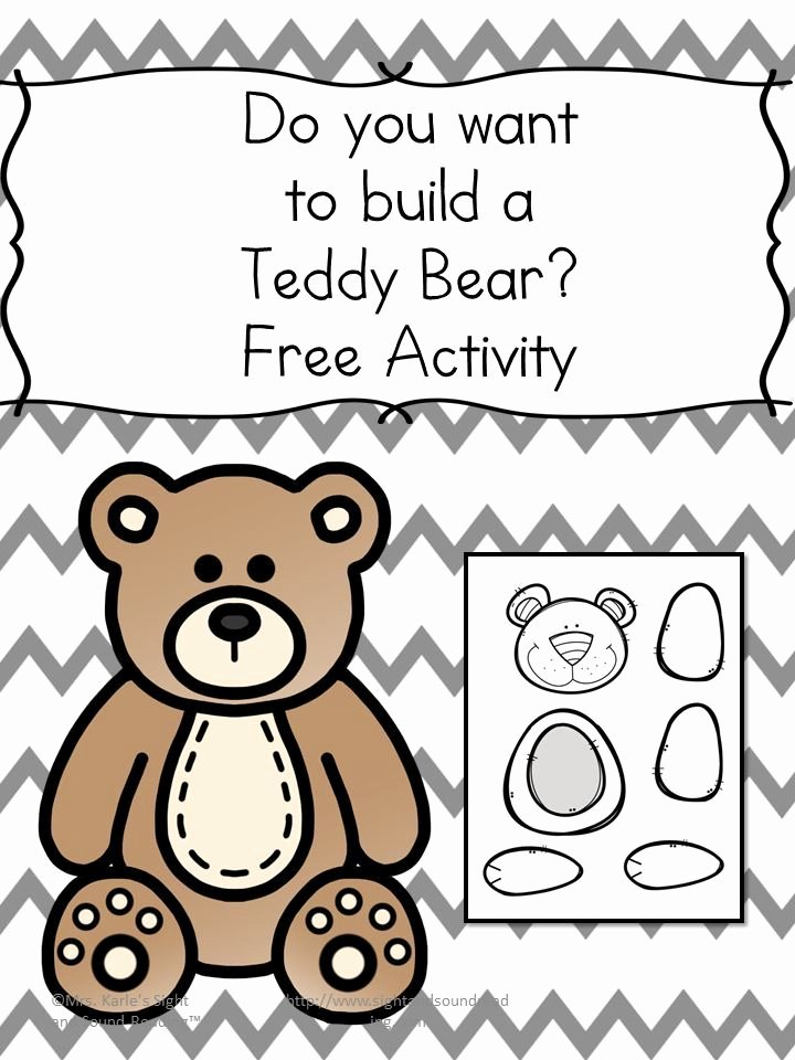 Teddy Bear Worksheets for Preschoolers Lovely Do You Want to Make A Teddy Bear Fun Craft for Kids