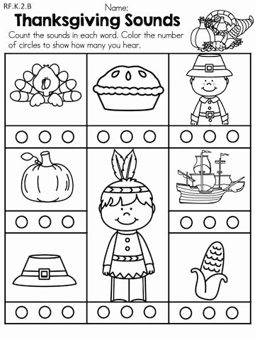 Thankful Worksheets for Preschoolers Ideas Thanksgiving Literacy Activities Kindergarten