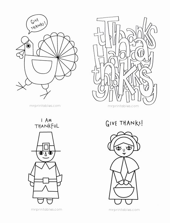 Thanksgiving Coloring Worksheets for Preschoolers top Thanksgiving Coloring Pages for Kids Mr Printables