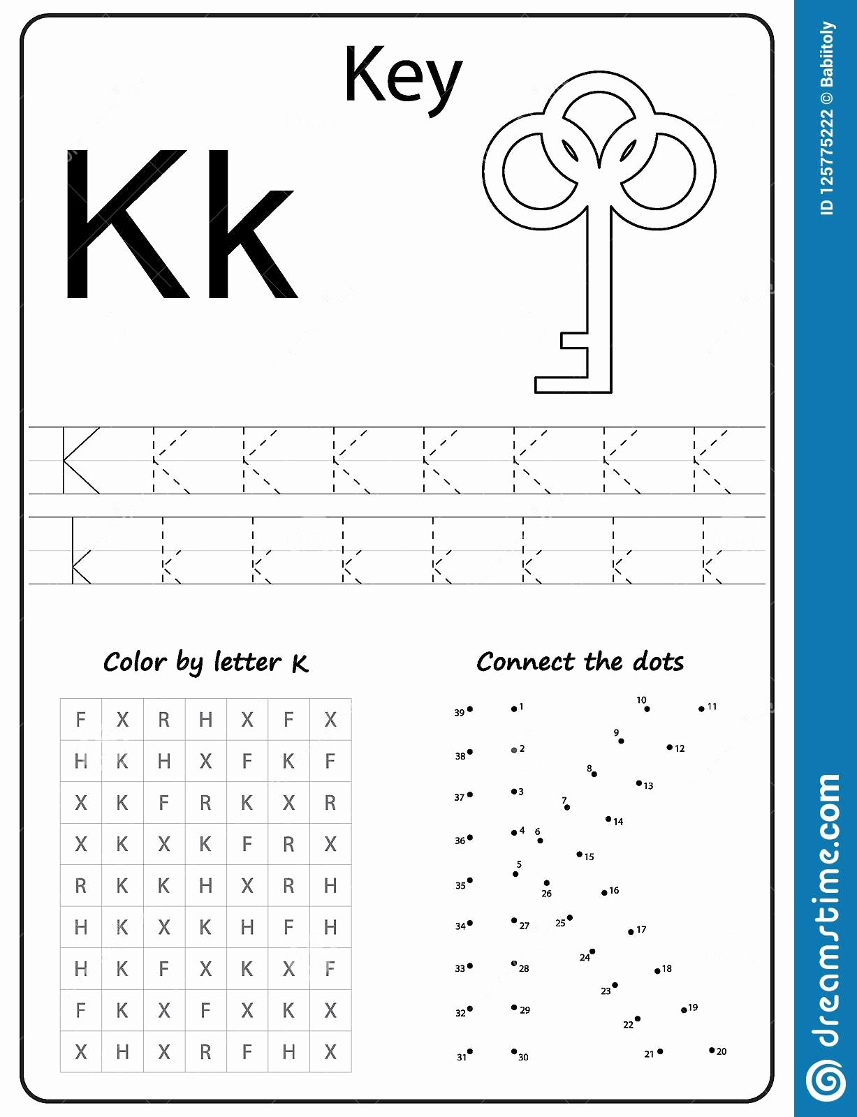 The Letter K Worksheets for Preschoolers top Worksheets On Letter K 28 Images Letter K Worksheets by