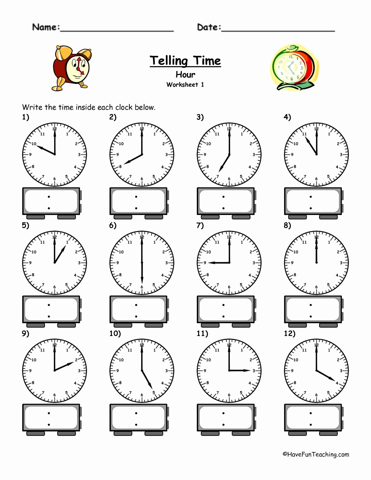 Time Worksheets for Preschoolers Free Image Result for Time Worksheet Preschool