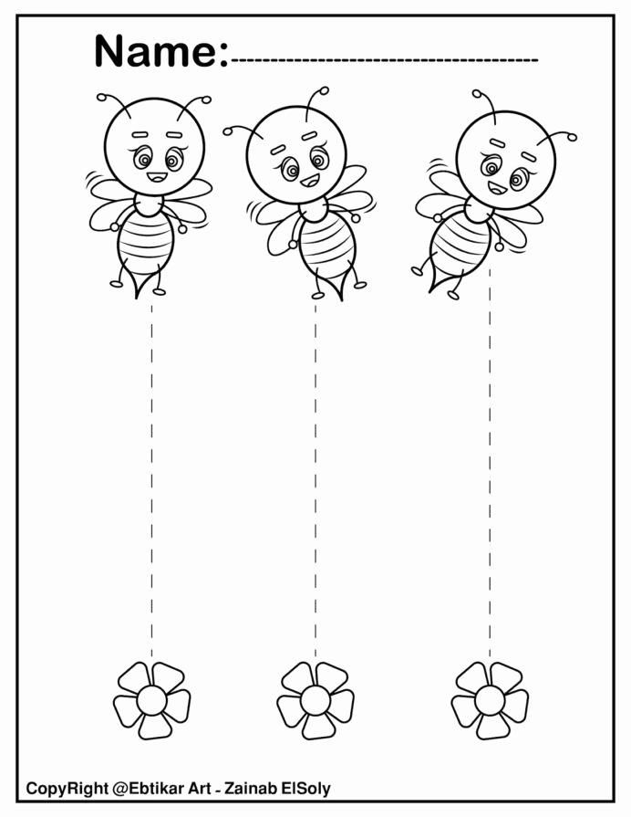 Trace the Lines Worksheets for Preschoolers New Straight Line Tracing Preschool Cutting Lines Worksheets for