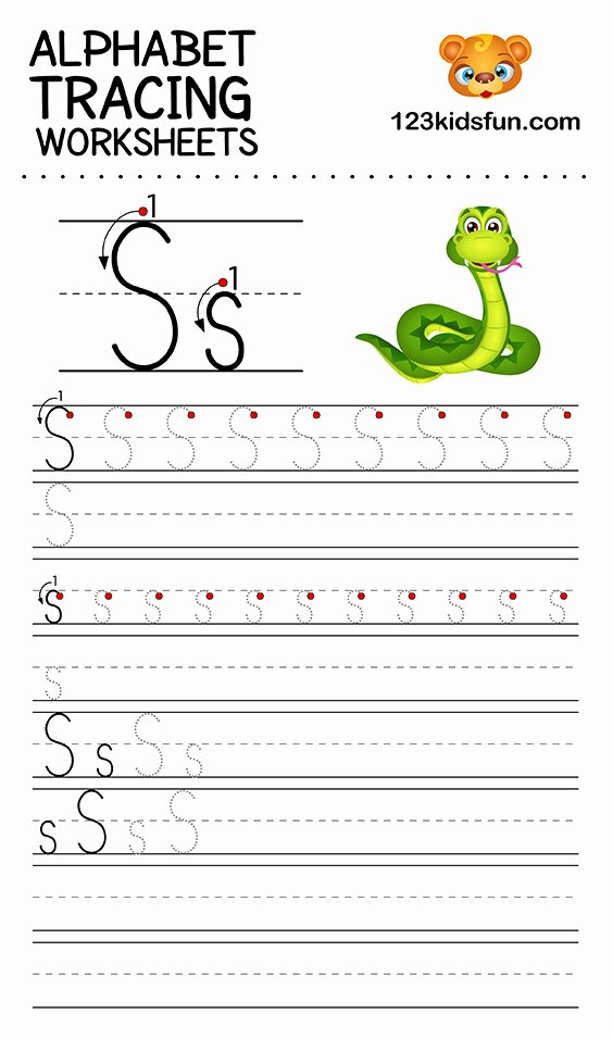Tracing Abc Worksheets for Preschoolers top Alphabet Tracing Worksheets A Z Free Printable for Kids