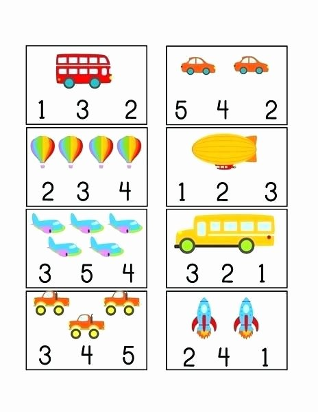 Transport Worksheets for Preschoolers Kids Preschool Transport Worksheets the Measured Mom Free