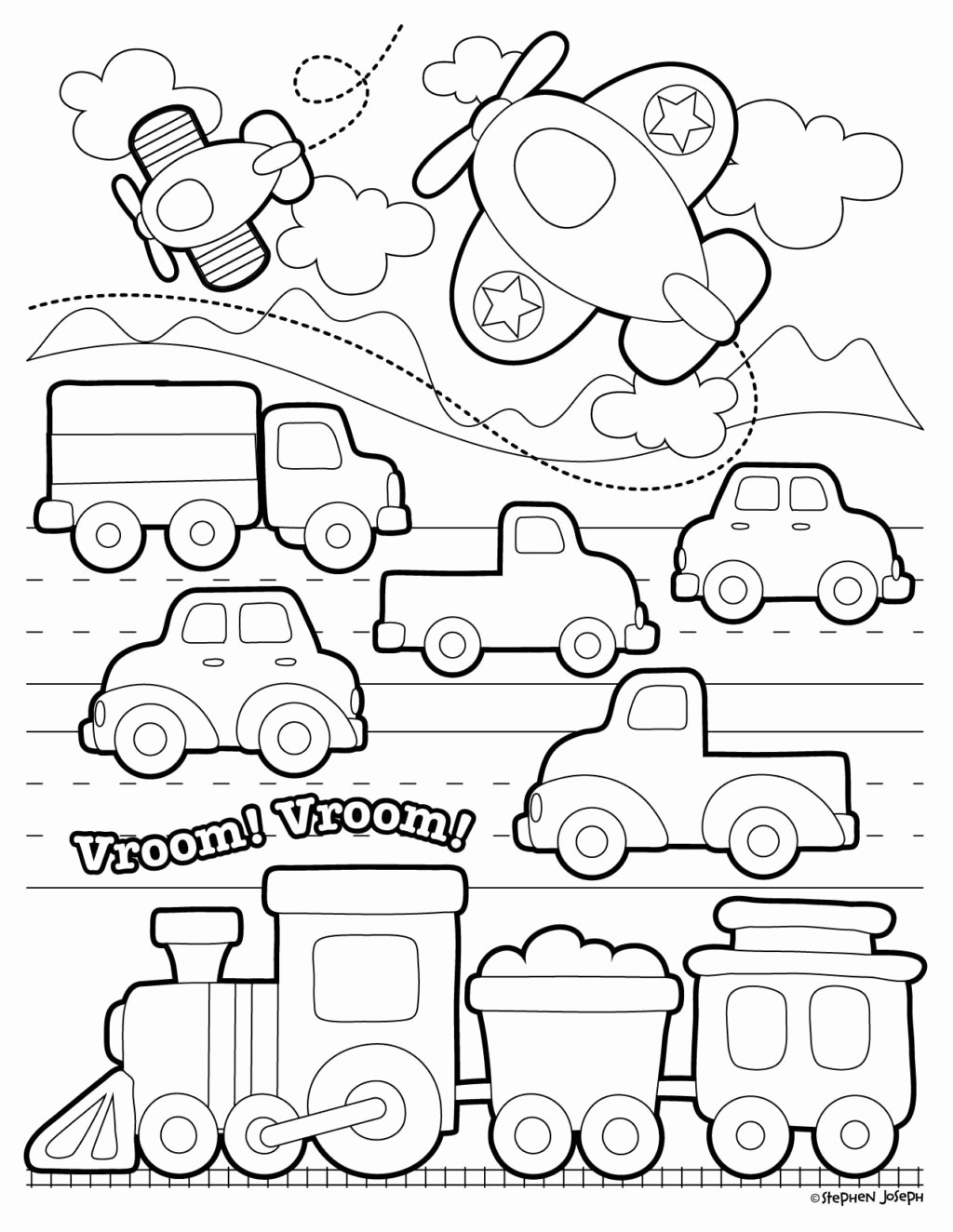 Transport Worksheets for Preschoolers top Worksheet Worksheet Coloring Pages Transportation