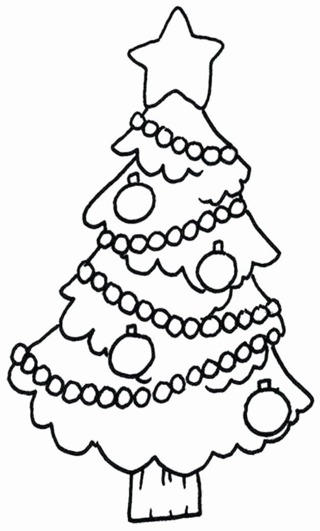 Tree Coloring Worksheets for Preschoolers Lovely Coloring Books Christmas Tree Coloring Pages Printable
