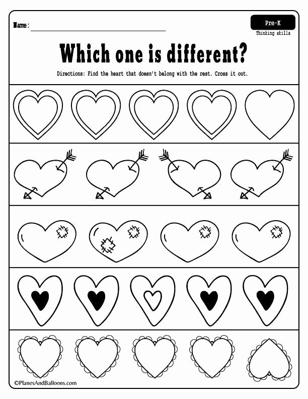 Valentine Worksheets for Preschoolers Free Fun Free Printable Valentine S Day Worksheets for Preschool