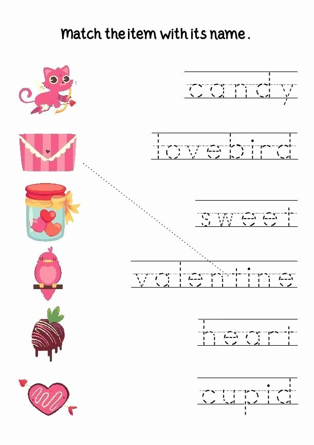 Valentine Worksheets for Preschoolers Ideas Valentine S Day Preschool Worksheets