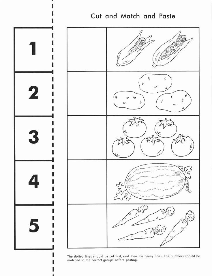 Vegetables Worksheets for Preschoolers Lovely Ve Ables Worksheets for Kindergarten Gabriela Ameneyro