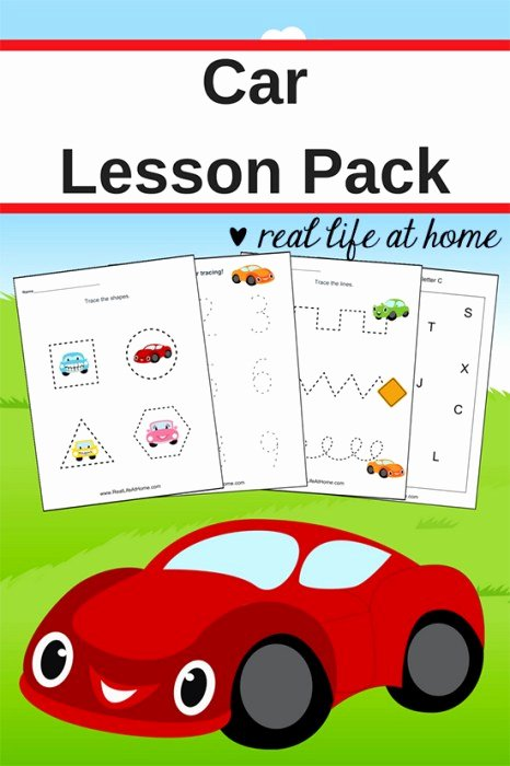 Vehicles Worksheets for Preschoolers New Car Worksheets Free Basic Skill Printables for Preschool