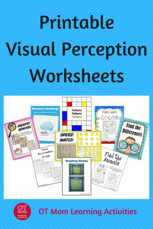 Visual Perception Worksheets for Preschoolers New Printable Visual Perceptual Worksheets