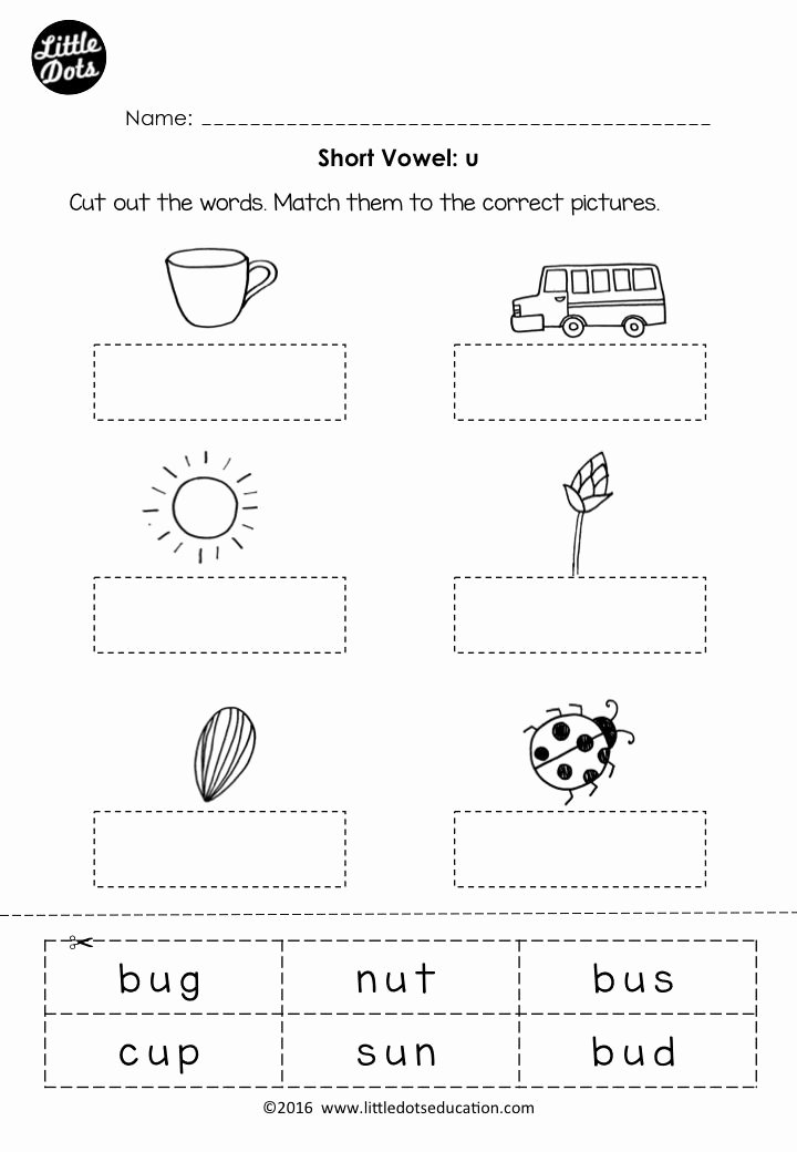 Vowels Worksheets for Preschoolers Kids Coloring Pages Printable Activity Sheets forten Free Short