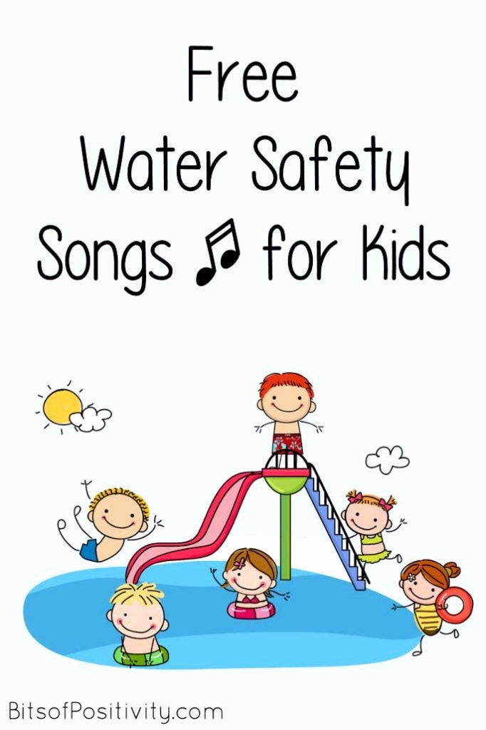Water Safety Worksheets for Preschoolers Kids Free Water Safety songs for Kids Bits Of Positivity