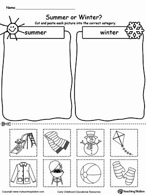 Winter Activities Worksheets for Preschoolers Fresh Preschool Printable Worksheets