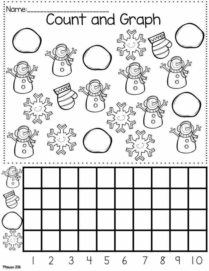 Winter theme Worksheets for Preschoolers Inspirational Kindergarten Math and Ela Winter Worksheets