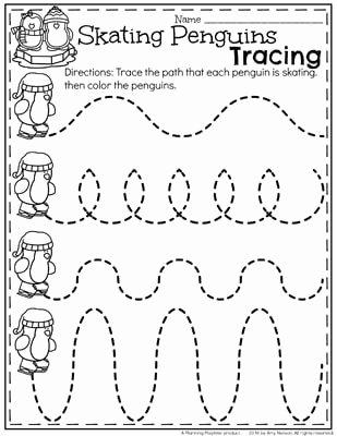 Winter theme Worksheets for Preschoolers top December Preschool Worksheets